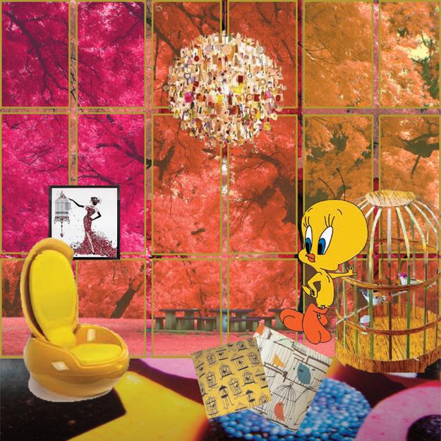 Vive la Différence - Tweety's abode - Tina Bernstein