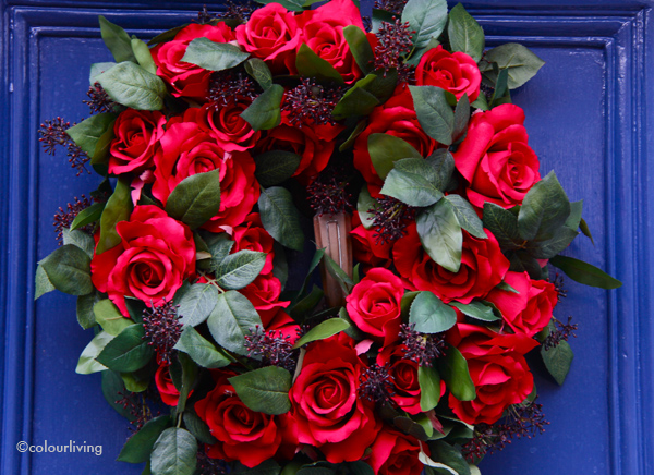 wreathes roses