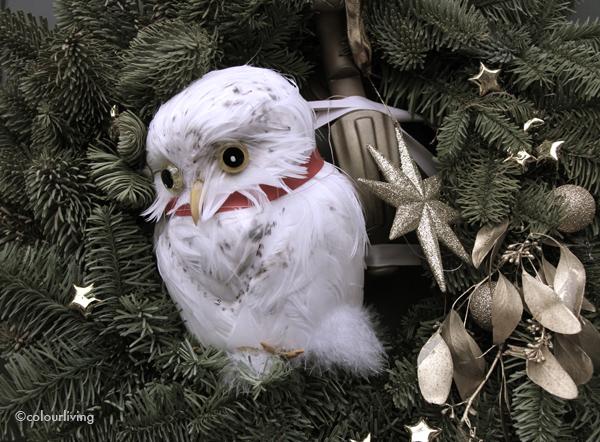 wreaths owls