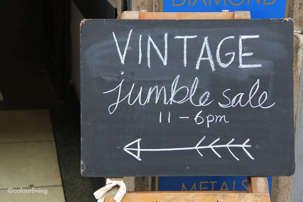 Vintage sample sale
