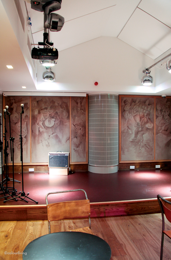 The Oak Room - Performance Space- The Hospital Club - colourliving