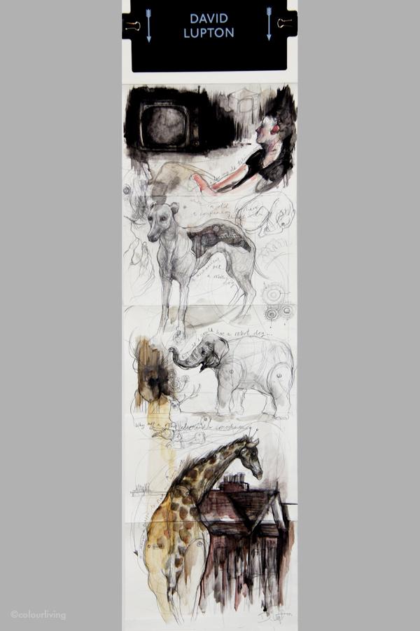 Moleskine Sketch Relay - Colourliving