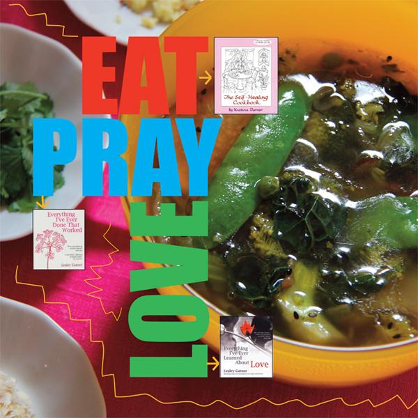 Vive la Différence - Eat, Pray, Love - Tina Bernstein