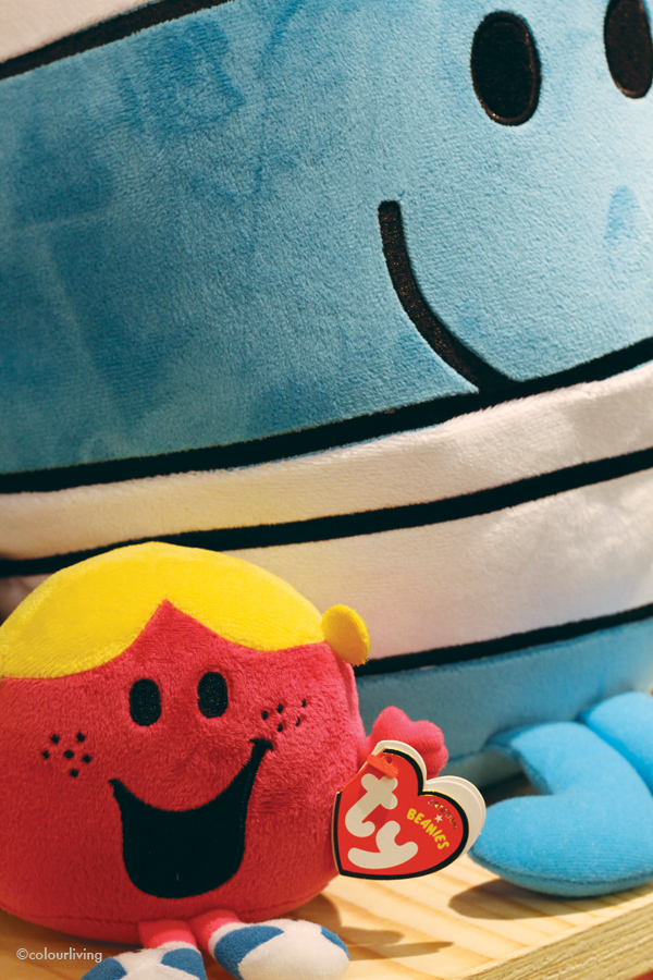 Mr Men and Little Miss pop-up in Selfridges - colourliving