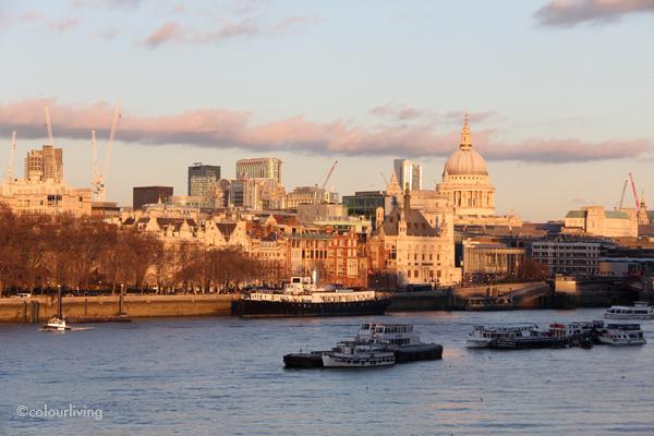 Sunset in London - colourliving