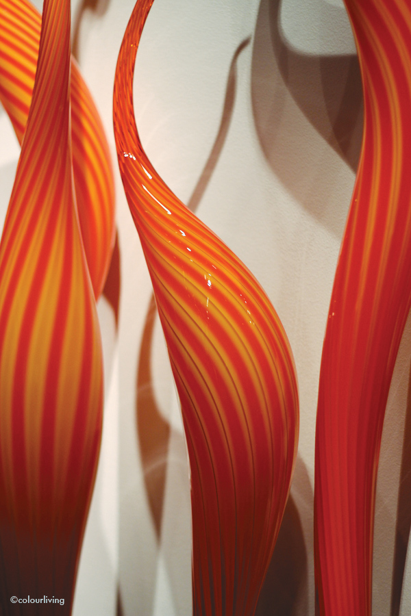 dale chihuly at halcyon gallery