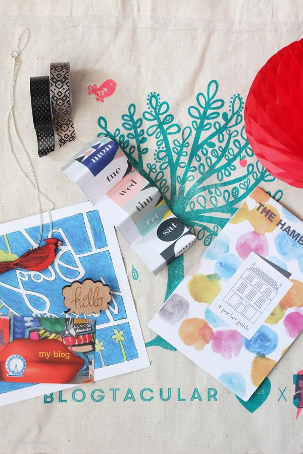 Blogtacular 2014 - Goodie Bag - colourliving