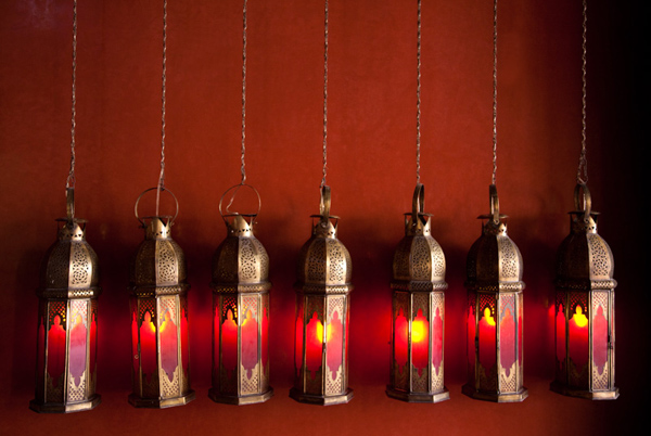 Paul Craig © | Moroccan Lanterns - colourliving