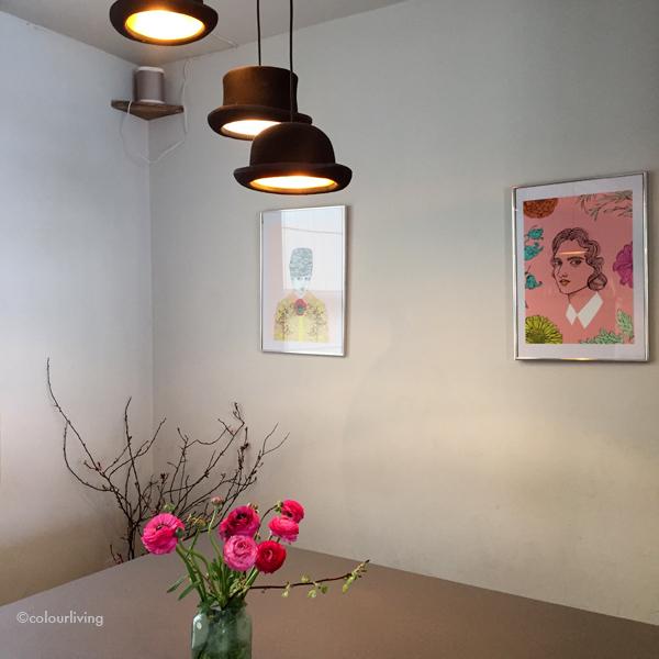 the wildflower café - colourliving