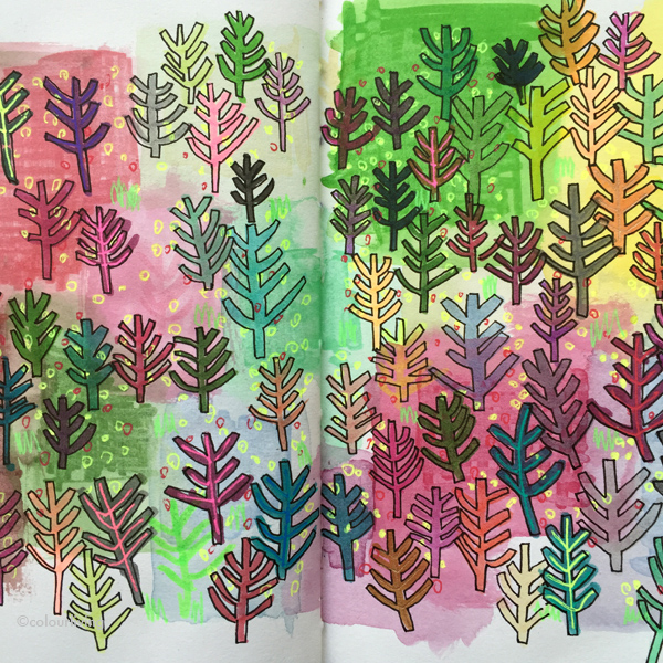 daily sketching part five | colourliving
