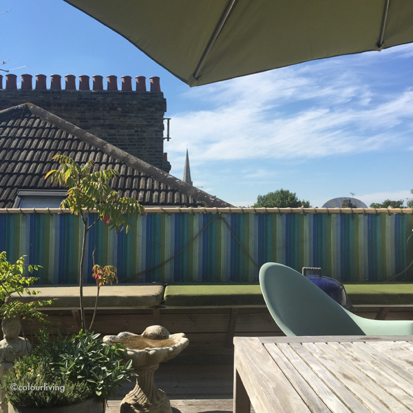 my roof terrace | colourliving