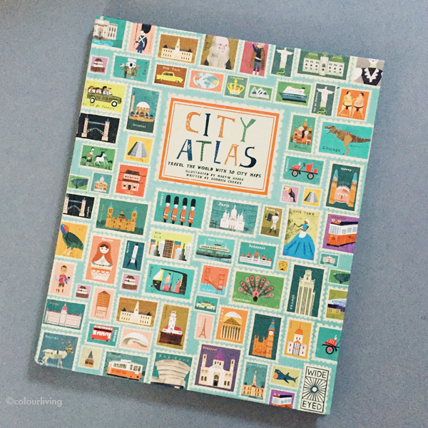 my library - city atlas | colourliving