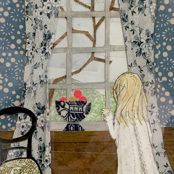 lauren child's collaged illustrations | colourliving
