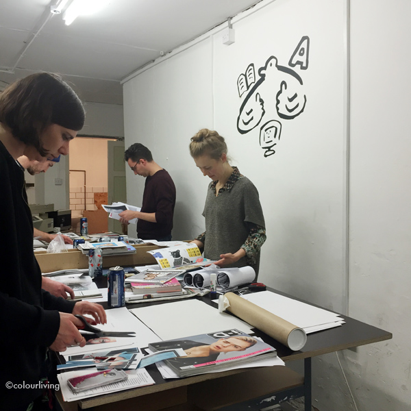 hato press - riso printing workshop // colourliving